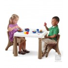 Step2: LifeStyle™ Kitchen Table & Chairs Set (Tan)