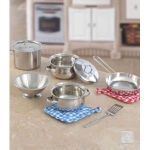 Step2: Cooking Essentials™ 10-pc Stainless Steel Set