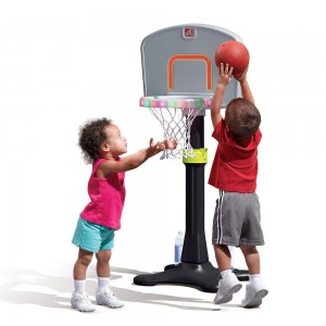 STEP2: LIGHT IT UP JR BASKETBALL SET