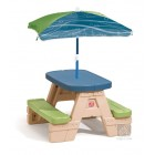 Step2: Sit & Play Picnic Table with Umbrella