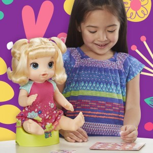 Hasbro: Baby Alive Potty Dance Baby - Blonde Hair