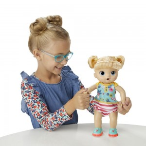 Hasbro: Baby Alive Step 'n Giggle Baby Blonde Hair Doll