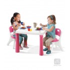Step2: LifeStyle™ Kitchen Table & Chairs Set (Pink)